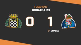 Liga NOS (23ªJ): Resumo Boavista FC 0-1 FC Porto