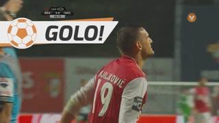 GOLO! SC Braga, N. Stojiljkovi? aos 41', SC Braga 3-0 CD Nacional