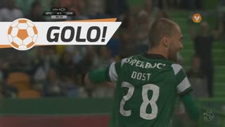 GOLO! Sporting CP, Bas Dost aos 90'+1', Sporting CP 4-1 GD Chaves