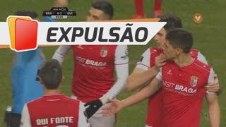 SC Braga, Expulsão, E. Velázquez aos 86'