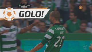 GOLO! Sporting CP, Bas Dost aos 15', Sporting CP 2-0 GD Chaves
