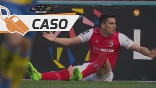 SC Braga, Caso, Rodrigo Battaglia aos 26'