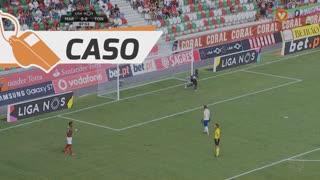 Marítimo M., Caso, Dyego Sousa aos 8'