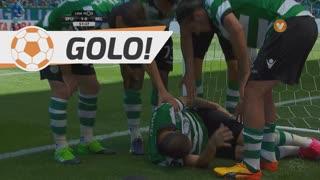 GOLO! Sporting CP, Bruno César aos 52', Sporting CP 1-0 Belenenses