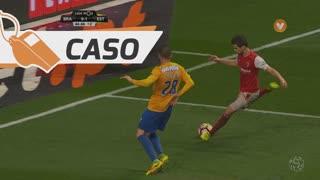 SC Braga, Caso, Rui Fonte aos 45'+1'