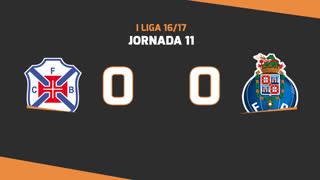 Liga NOS (11ªJ): Resumo Belenenses 0-0 FC Porto