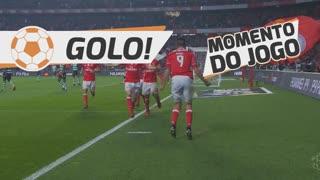 GOLO! SL Benfica, R. Jiménez aos 47', SL Benfica 2-0 Sporting CP