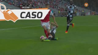SC Braga, Caso, Pedro Santos aos 59'