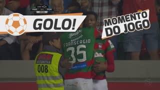 GOLO! Marítimo M., D. Djoussé aos 69', Marítimo M. 1-1 FC Porto