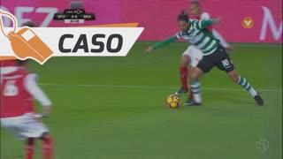 Sporting CP, Caso, B. Ruiz aos 43'