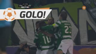 Sporting CP, Bas Dost aos 74', GD Chaves 1-2 Sporting CP