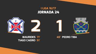I Liga (24ªJ): Resumo Os Belenenses 2-1 GD Chaves