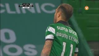 Sporting CP, Jogada, Bruno César aos 2'