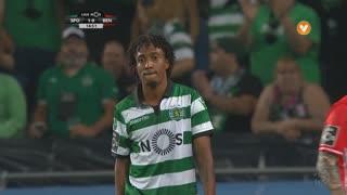 Sporting CP, Jogada, Gelson Martins aos 15'
