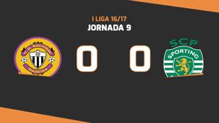 Liga NOS (9ªJ): Resumo CD Nacional 0-0 Sporting CP
