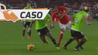 SL Benfica, Caso, André Almeida aos 40'