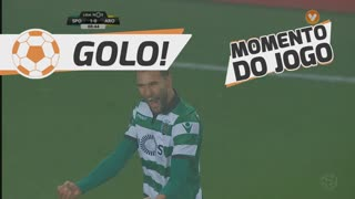 GOLO! Sporting CP, Bas Dost aos 9', Sporting CP 1-0 FC Arouca