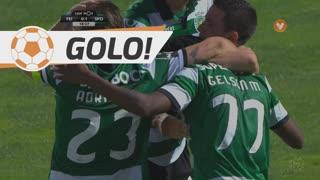 GOLO! Sporting CP, Gelson Martins aos 19', CD Feirense 0-1 Sporting CP