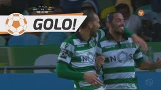 GOLO! Sporting CP, Bas Dost aos 32', Sporting CP 2-0 FC P.Ferreira