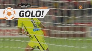GOLO! Marítimo M., A. Keita aos 38', SC Braga 3-1 Marítimo M.