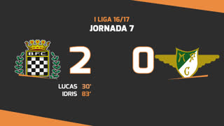 I Liga (7ªJ): Resumo Boavista FC 2-0 Moreirense FC