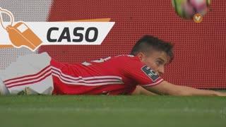 SL Benfica, Caso, F. Cervi aos 65'