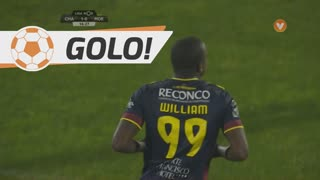 GOLO! GD Chaves, William aos 16', GD Chaves 1-0 Moreirense FC