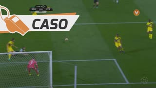 Sporting CP, Caso, Adrien Silva aos 11'