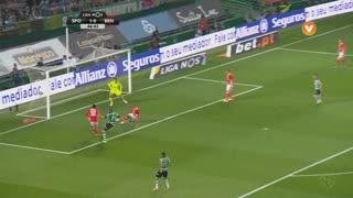 Sporting CP, Jogada, E. Schelotto aos 47'