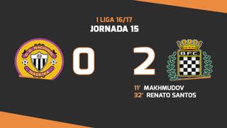 Liga NOS (15ªJ): Resumo CD Nacional 0-2 Boavista FC