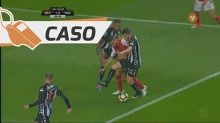 SC Braga, Caso, Rui Fonte aos 21'