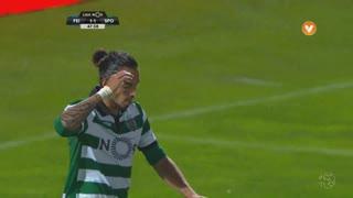 Sporting CP, Jogada, E. Schelotto aos 48'