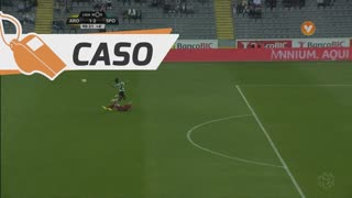 Sporting CP, Caso, Gelson Martins aos 90'