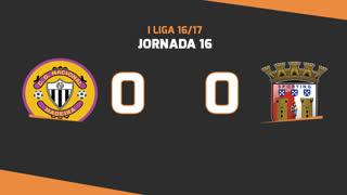 Liga NOS (16ªJ): Resumo CD Nacional 0-0 SC Braga