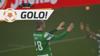 GOLO! Sporting CP, Bas Dost aos 45'+1', GD Chaves 1-1 Sporting CP