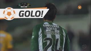 GOLO! Vitória FC, João Amaral aos 33', Vitória FC 1-0 Estoril Praia