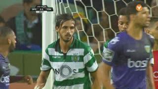 Sporting CP, Jogada, B. Ruiz aos 44'