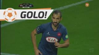 GOLO! Os Belenenses, Tiago Caeiro aos 88', SC Braga 2-1 Os Belenenses