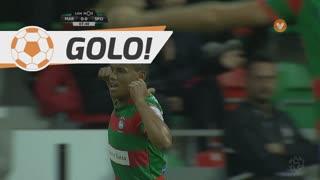 GOLO! Marítimo M., Éber aos 8', Marítimo M. 1-0 Sporting CP