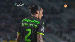 Sporting CP, Jogada, E. Schelotto aos 54'