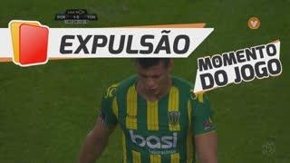 CD Tondela, Expulsão, Y. Osorio aos 45'+2'