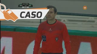 Sporting CP, Caso, Bas Dost aos 33'