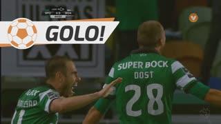 GOLO! Sporting CP, Bas Dost aos 63', Sporting CP 4-0 Boavista FC