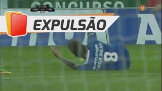 CD Feirense, Expulsão, Tiago Silva aos 64'