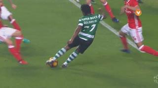Sporting CP, Jogada, Gelson Martins aos 7'