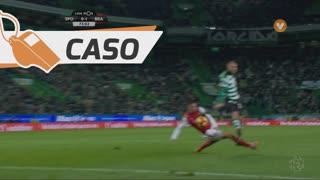 Sporting CP, Caso, Bas Dost aos 72'