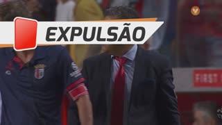 SC Braga, Expulsão, José Peseiro aos 75'
