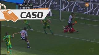 CD Tondela, Caso, Y. Osorio aos 39'