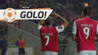 GOLO! SC Braga, Wilson Eduardo aos 55', SC Braga 4-1 CD Feirense