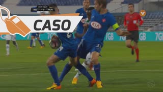 Belenenses SAD, Caso, Florent  Hanin aos 24'